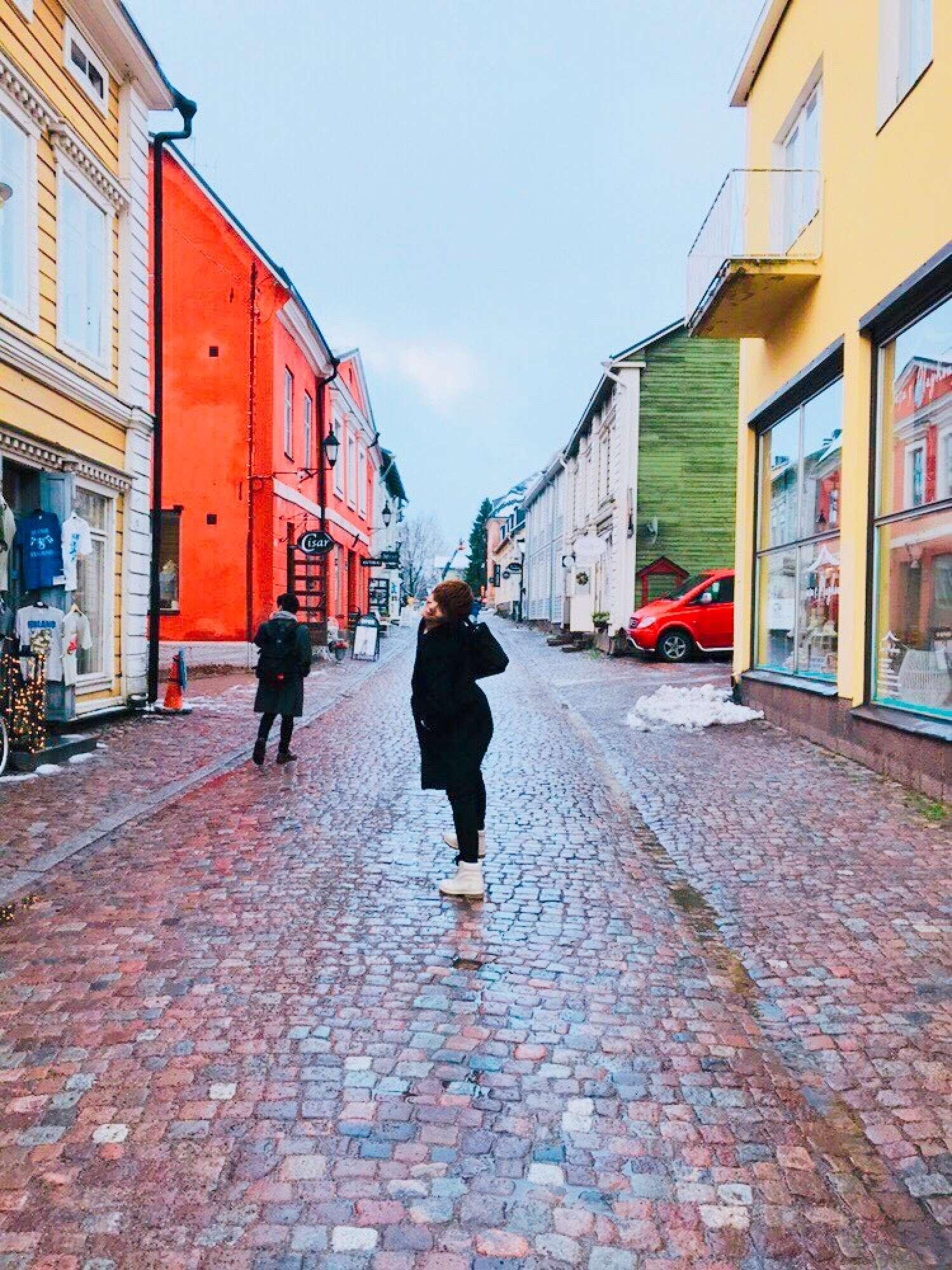 建築の専門学校から竹内へ - 学生時代、建築物の勉強でフィンランドに行きました。建築についての自分の考え方や見方が変わったとても良い経験になりました。日本にも目に留まる珍しい建物が多いですが、海外の街づくりというのもまたなかなか見ることができないので色々なアイデアのヒントになる良い経験ができました。 -